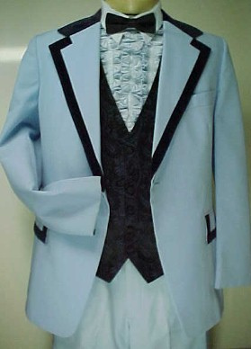 When we say retro tux... we don't mean this