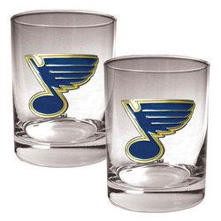 St. Louis Blues Cocktail Glasses