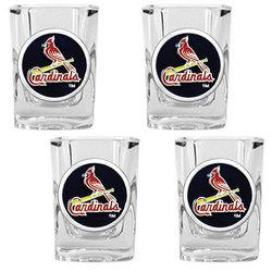 St. Louis Cardinals Shot Glass Set