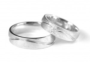 Dilek-Sezen Wedding Band Set