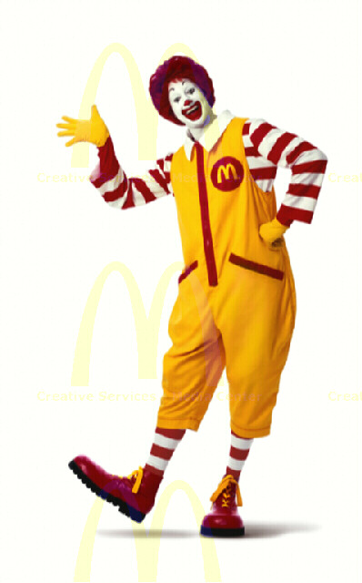 You won't believe what Ronald is cookin' up now..