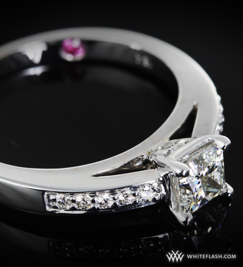 Whiteflash Custom Engagement Ring