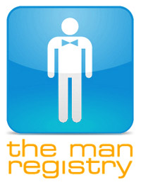 Register for your Man Shower gifts at The Man Registry