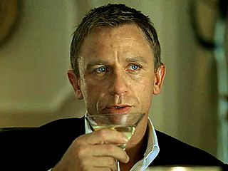 Bond's signature drink is the Vesper Martini