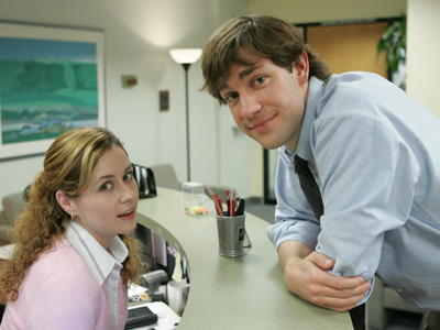 "Jim and Pam apparently make the cut for ""Best TV Weddings"""
