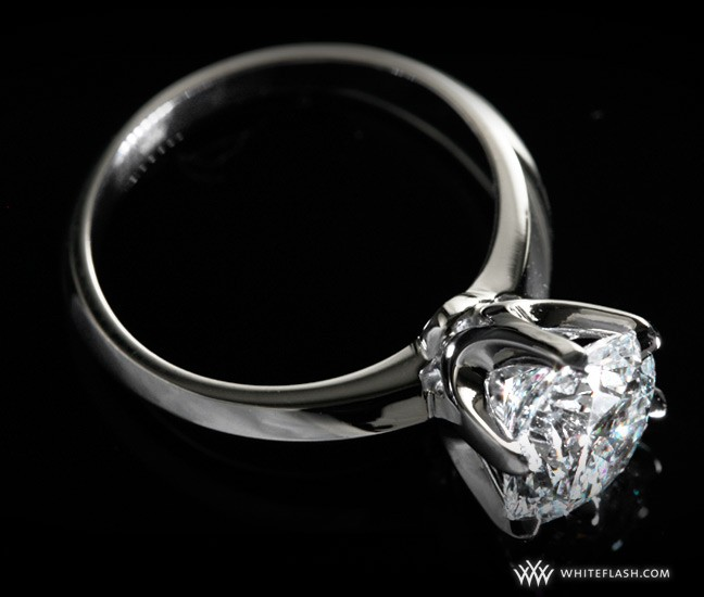 Sure it's a great diamond engagement ring, but is that rock certified?