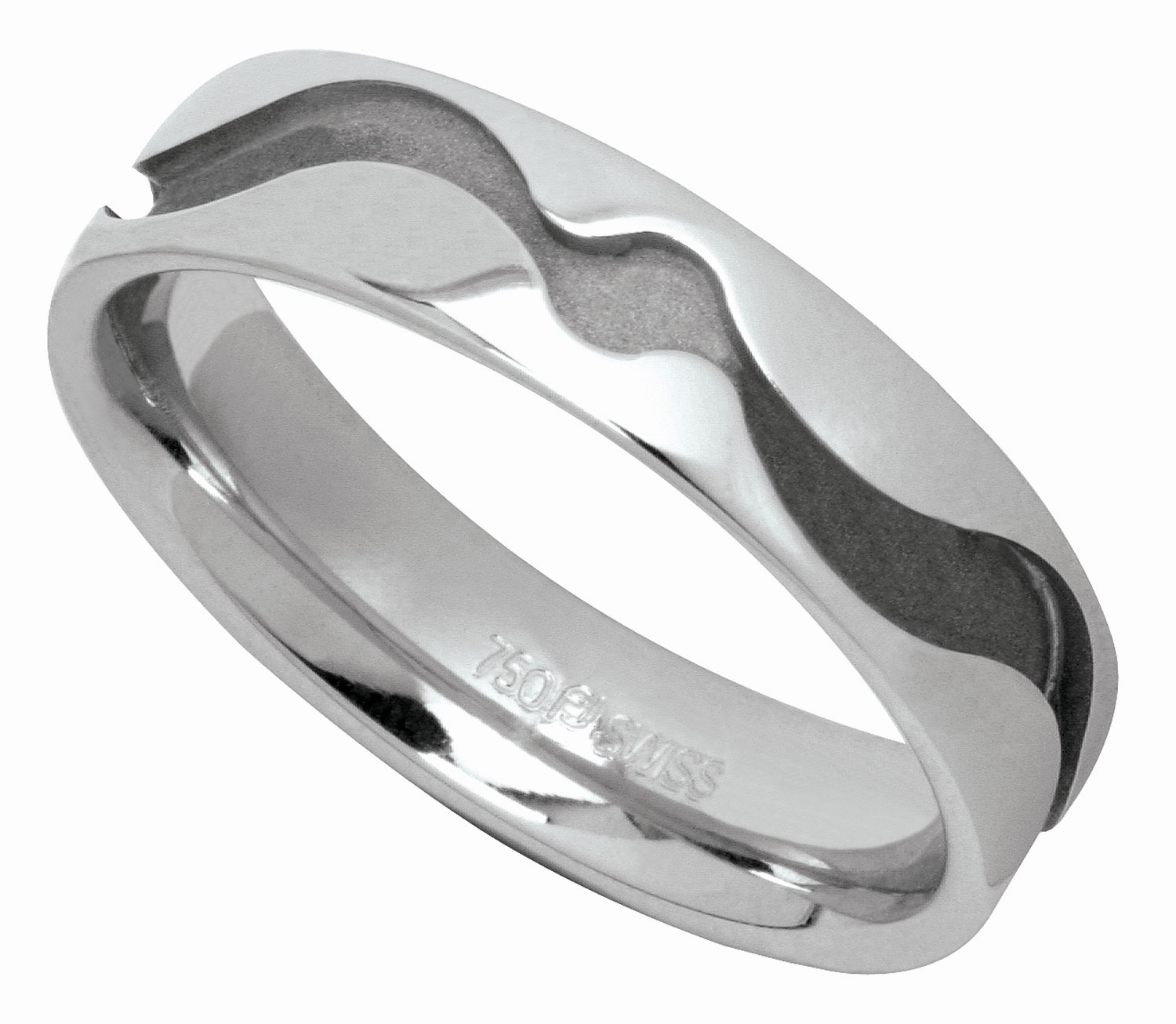 Furrer-Jacot Platinum Groom's Wedding Band
