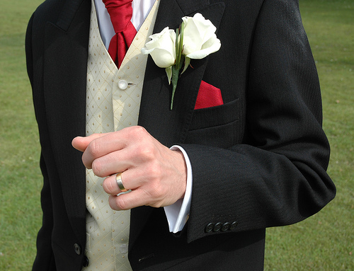 Michael O'Connor's tips on finding the perfect wedding band are a must read for grooms.