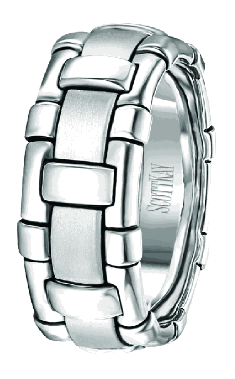 Scott Kay Platinum Wedding Band