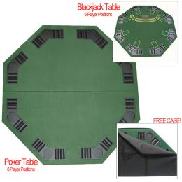 Deluxe Poker & Blackjack Table Top