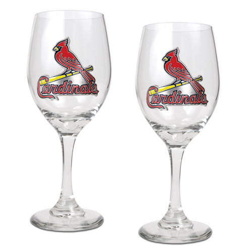 St. Louis Cardinals Wine Glass Set