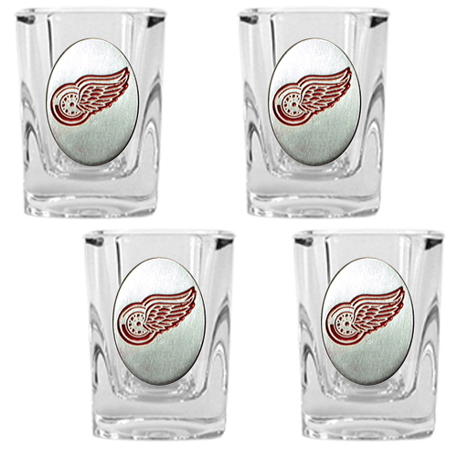 Red Wings Shot Glass Set