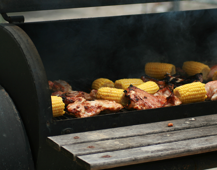 Like grilling? A backyard BBQ rehearsal dinner can be the perfect low key event.