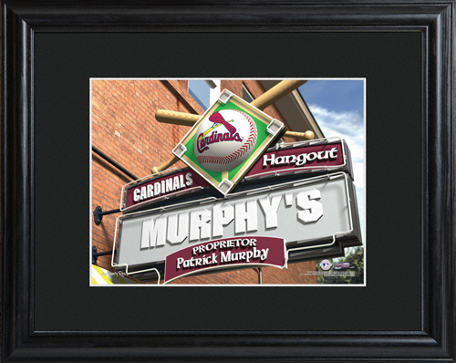 St. Louis Cardinals Pub Sign