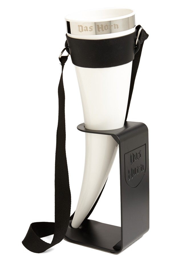 The Das Horn Drinking Horn is one of this year's top groomsman gifts