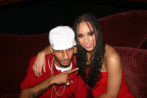 Swizz Beatz and Alicia Keys are engaged.