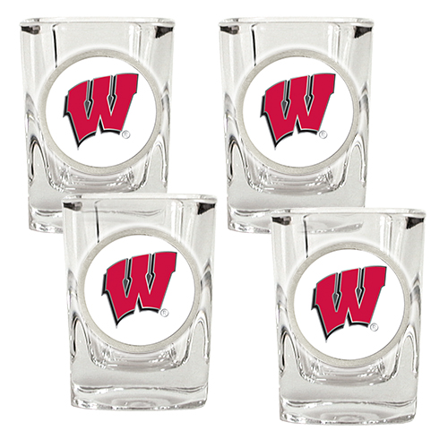 Badgers Shot Glass Set