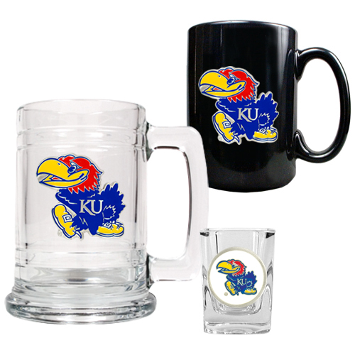 Jayhawks Barware Set