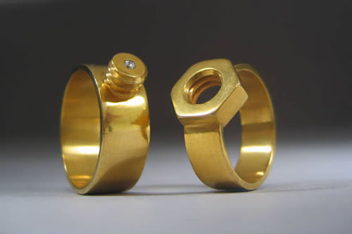 A how-to guide on making your own wedding rings