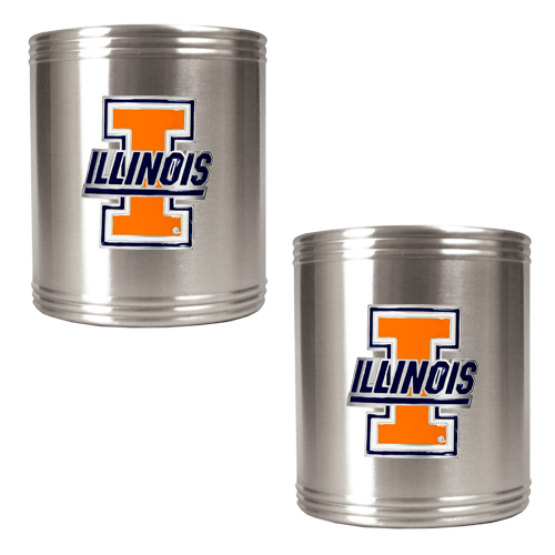 Illini Koozie Set
