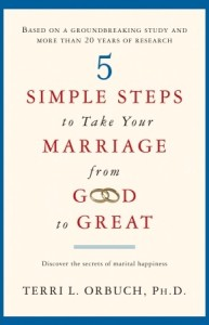 Recommended reading: '5 Simple Steps to Take Your Marriage from Good to Great'