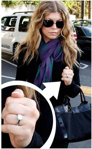 Fergie's Engagement Ring