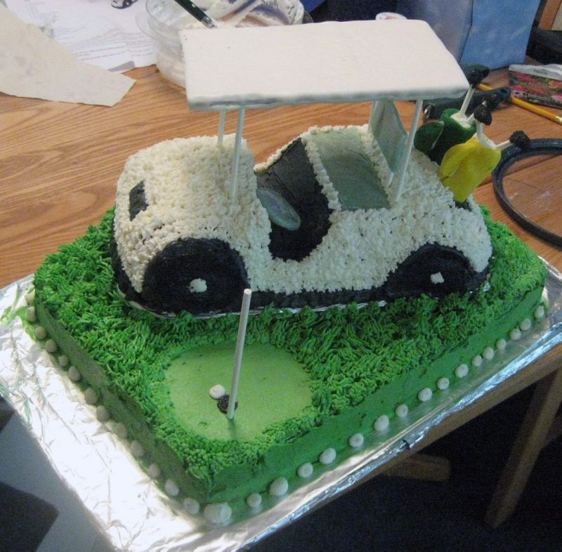 The Top 10 Golf Wedding Cakes