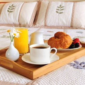 3  magic words: breakfast in bed