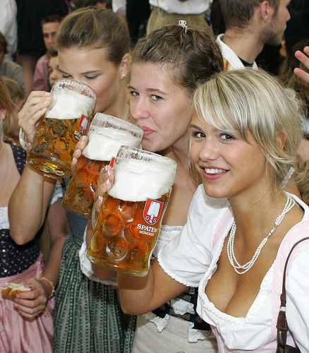 Nobody said having fun at a beer festival would be easy