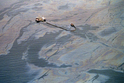 Aerial Photo of the Deepwater Oil Spill