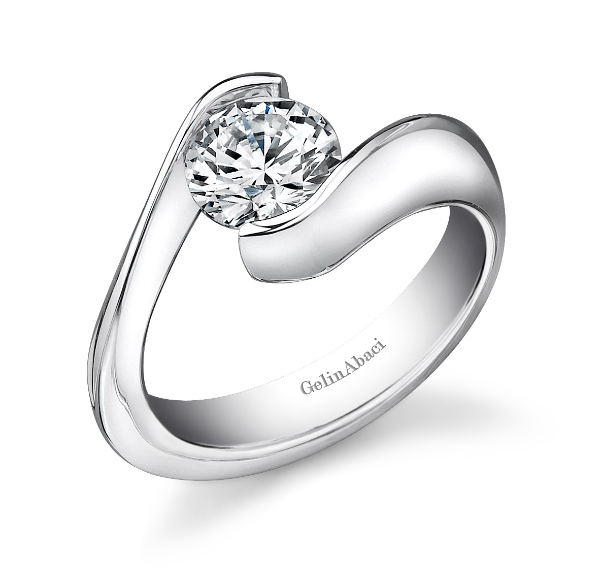 Gelin Abaci - $3,375 Platinum Engagement Ring