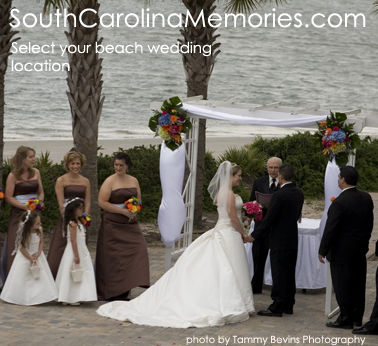 South Carolina Beach Wedding Locations