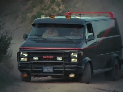 The A-Team Van (1983 GMC Vandura G-1500)