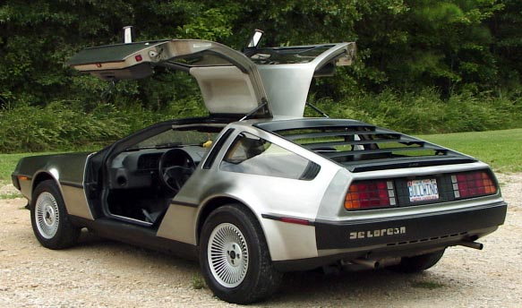 Back to the Future DeLorean (1981 DeLorean DMC 12)