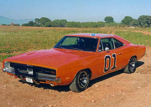 1969 Dodge Charger from Dukes of Hazard