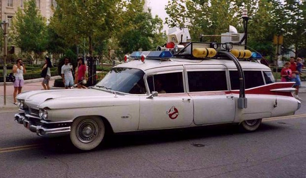 The Ghostbusters' Ecto-1