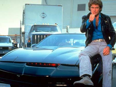 Knight Rider's Kitt (the Hoff is optional)