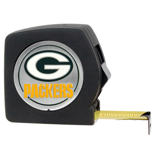 Green Bay Packers 25 Tape Measure
