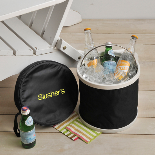 Personalized Frosty Pop-up Bucket Cooler