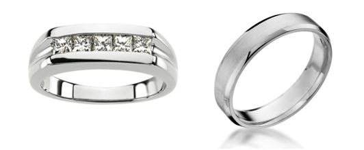 L Stuller Platinum Wedding Band By R Michael C Fina