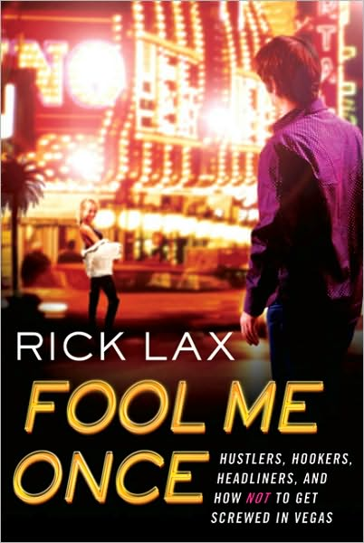 Rick Lax Fool Me Once Book Cover