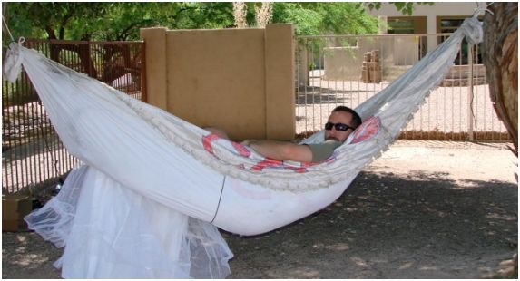 wedding dress hammock
