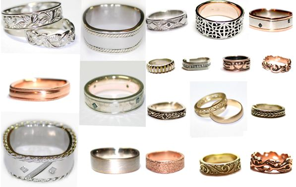 Stylish 2011 wedding bands