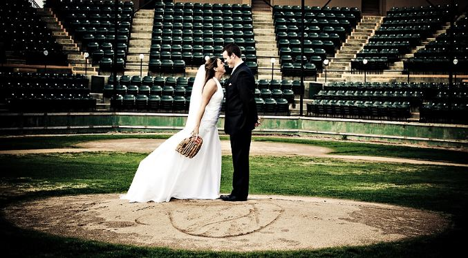 mlb all star game fan fest wedding
