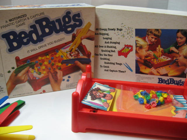 vintage bed bugs board game