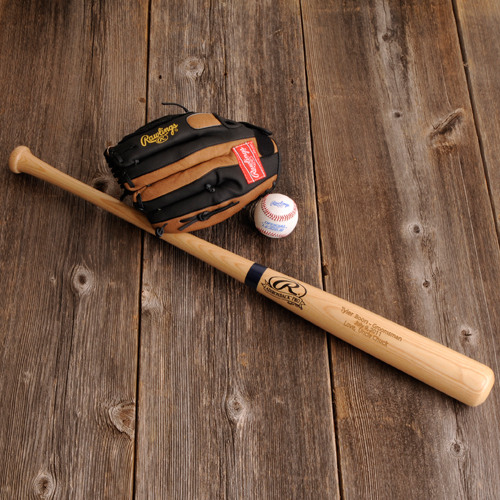 engraved rawlings baseball bat
