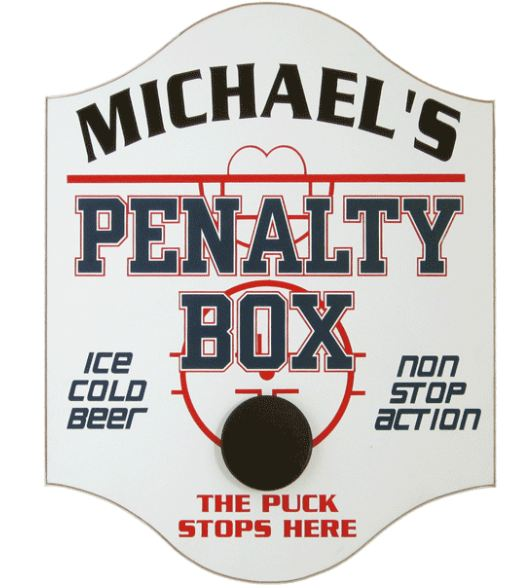 custom hockey pub sign