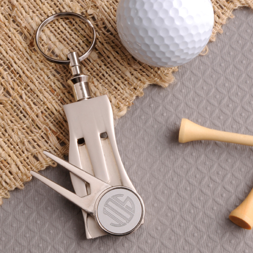 engraved golf tool
