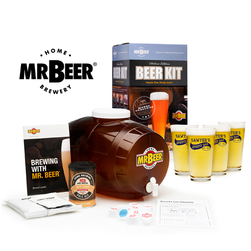 Mr. Beer Kit Personalized Pub Glass Set