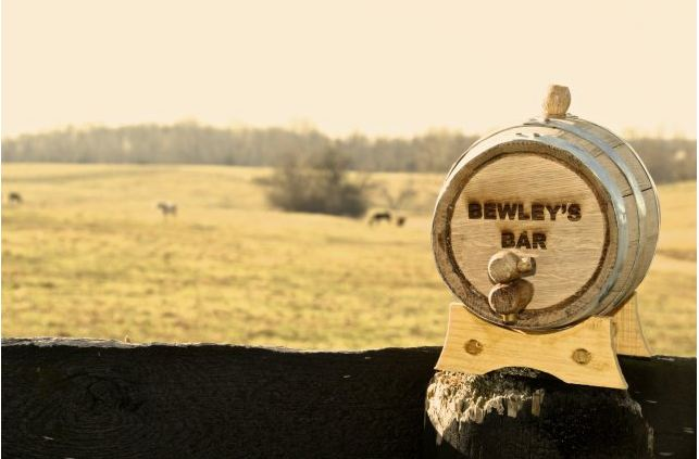 engraved bluegrass barrel
